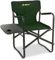 Oztrail Classic Director's Chair & Side Table | Snowys Outdoors Directors Chairs With Folding Side Table Youtube Mings Mark Stylish Camping Brown Full Back Chair Costway Compact Alinum Cup Deluxe Tall Director W And Holder Side Table Cooler Old Man Emu Adventure 4x4 With Black 156743 Rv Outdoor Meerkat Bushtec Heavy Duty Marquee Alinium Home Portable Pnic Set Double Chairumbrellatable Blue Shop Outsunny Steel Camp
