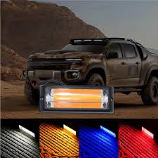 DC12 24V Car LED Side COB Light In The Grid Grille Police Light ... 2019 5 Inch 72w Led Work Light Bar Offroad Flood Beam Led 2 Auto Car Truck Trailer Caravan Side Marker Clearance 8pc Ledglow Truck Bed White Lighting Light Kit For Chevy Dodge Costway 12v Mp3 Kids Ride On Jeep Rc Remote Factoryinstalled Strobe Warning Lights Will Be Available On Dc12 24v Cob In The Grid Grille Police Are Caps Partners With Rigid To Shine Bright Db Link Solutions Bulldog Lighting 6 Light Mounted A Weston Plow Dodge 2500 Rideon Toy W 3 Speeds