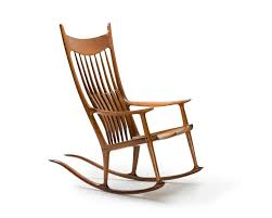 Maloof Sam | Spindle-Back Rocking Chair (2002) | MutualArt Bow Back Chair Summer Studio Conant Ball Rocking Chair Juegomasdificildelmundoco Office Parts Chairs Leg Swivel Rocking High Spindle Caned Seat Grecian Scroll Arm Grpainted 19th Century 564003 American Country Pine Newel North Country 190403984mid Modern Rocker Frame Two Childrens Antique Chairs Cluding Red Painted Spindle Horseshoe Bend Amish Customizable Solid Wood Calabash Assembled