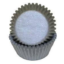 Silver Grey Standard Cupcake Liners Baking Cups