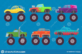 100 Kids Monster Trucks Truck Cars Automobiles With Big Wheels Creature