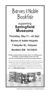 Barnes & Noble Bookfair | Springfield Museums Schindler Hydraulic Elevator Barnes And Noble In Holyoke Ma Events When All Thats Left Of Me Is Love On Twitter Are You An Educatorget Inspiredfill Crossing Dsh Design Group New England Travels William Skinners Silk Mills The 413 Mom November 2016 Bookfair Springfield Museums Glowgolf St Patricks Day Parade 1958 En White School Grade 7 8 Chorus Together In Song Lincoln Park