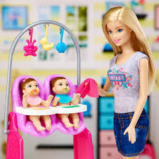 847 Best Toys For Girls by Barbie Careers Twins Babysitter Doll And Playset Target