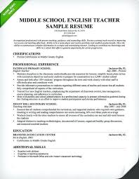 Sample Elementary Teaching Resumes Examples Of Teacher Resume