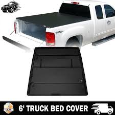6' Tri-Fold Truck Bed Cover Heavy Duty Tonneau Cover For Toyota ... Fit 052015 Toyota Tacoma 5ft Short Bed Trifold Soft Tonneau 16 17 Tacoma Truck 5 Ft Bak G2 Bakflip 2426 Hard Folding Lock Roll Up Cover For Toyota Ft Truck Bed Size Mersnproforumco Bak Industries 11426 Fibermax 052018 Nissan Frontier Revolver X2 39507 Amazoncom Xmate Works With 2005 Buying Guide Install Bakflip Hard Tonneau Cover 2014 Toyota Tacoma Bak26407 Undcover Se Covers 96