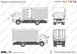 100 Mitsubishi Commercial Trucks Blueprints Fuso Fuso Canter