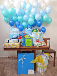 Image of baby shower decorations