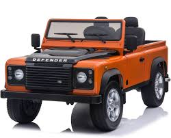 100 Land Rover Defender Truck Ride On 12V With 24G Remote Control Two