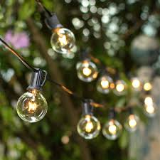 patio ideas lights beautiful outdoor globe string lights for