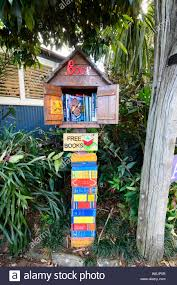 100 Tree Houses Maleny A Free Book Booth In The Small Rural Town Of
