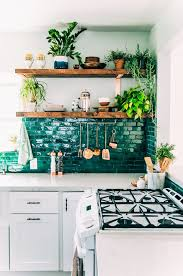 Decorating With Emerald And Blue Topaz Bohemian Kitchen