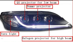 for 2004 2013 ma zda 6 headlight q5 bi xenon pjrojector and canbus