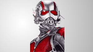 Ant Man Drawing With A Suprise