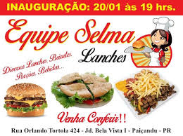 cuisine equipes equipe selma lanches home paiçandu parana menu