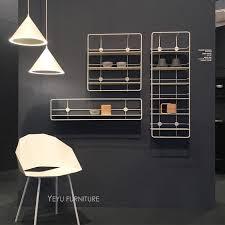 Modern Loft Design Wall Mounted Metal Shelf Display Show Shelves Nice Decoration