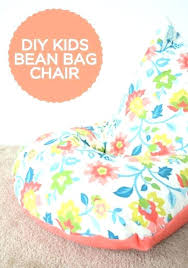 Personalized Chair For Kids Bean Bag Chairs With Sew A