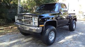 1986 Chevrolet C/K 1500 Silverado 4X4 Short Bed Step Side Pickup ...