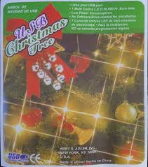 Small Fiber Optic Christmas Tree Target by Amazon Com Usb Powered Miniature Christmas Tree Multicolor Leds
