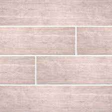 sonoma driftwood 6 in x 24 in glazed ceramic floor and wall tile