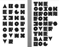 Basic Alphabet 2013 And The Serif Typeface Zwanzig