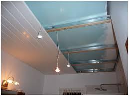 faux plafond suspendu pvc isolation idées
