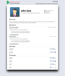 Simple Resume Template - One Column CV Template | Prokarman Unique Blank Simple Resume Template Ideas Free Printable Free Resume Mplates For High School Students Yupar Mplate Clipart Images Gallery One Column Cv Prokarman Outline Souvirsenfancexyz 25 Templates Open Office Libreoffice And Director Examples New Fuel Sme Twocolumn Resumgocom 68 Easy Cv Jribescom And Ankit 45 Modern Minimalist 17 Simple Format Download Leterformat