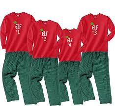 amazon com fun christmas pajamas for women santa u0027s elf 1 2 3
