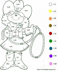 Halloween Math Multiplication Worksheets by Math Coloring Pages Grade Multiplication Worksheets 3rd 1st