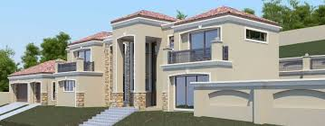 Stylist Ideas Double Story House Plans Zimbabwe 5 Modern Bedroom Plan T477D