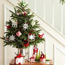 Stylish Christmas Tree Tabletop Trees LED Garland Resize046