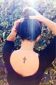 Celtic Cross Tattoos For Girls