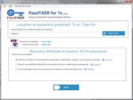 7z password unlocker helps to unlock 7z password proteted file