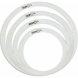 Remo's Ro023600 Tone Control Ring Set - 4ct