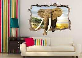 3d tapete für wohnzimmer in indien elefant elefanten und