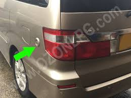 LPG Conversion Toyota ALPHARD 30L V6 Year 2004 With Filling Point