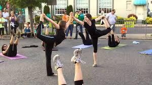 Mind the Mat Pilates & Yoga Flash Mob