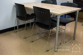 Ikea Desk Top Wood by Table Frames For Any Table Top Simplified Building