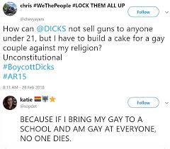Dicks Stops Selling