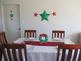 Seasons Christmas Decorations For The Home Paper Star Wall