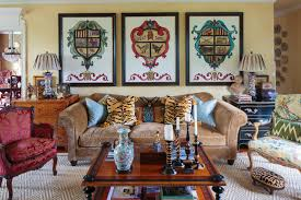furniture stores knoxville tn Living Room Mediterranean with animal print antique furniture