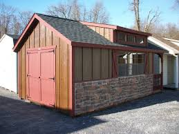 Amish Made Storage Sheds by Amish Built 12x20 Cape Cod Storage Shed Located At Elizabethtown