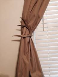 Deer Antler Curtain Holders by Deer Antler Curtain Rod Holders Google Search Coleton U0027s Room
