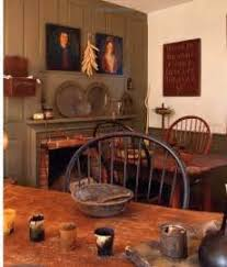 Colonial Tavern Room American Country Decor Early
