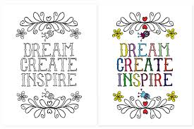 Creative And Inspirational Coloring Page For Kids Of All Ages Livelaughrowe Printable