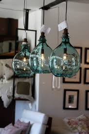 sea glass globe lights sea side shells stuff 2
