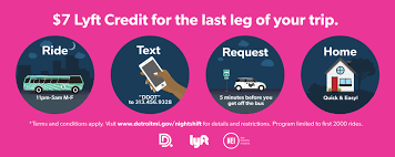 NightShift | City Of Detroit 2019 Lyft Driver Referral Code August Earn Up To 2900 Promo Coupon Code Promotions Ride Discounts And Credits 2 Free Lyft Rides Use Mahalo Mighty Travels Coupon Wwwprode4ucom How Edit Or Delete A Promotional Discount Access To Claim Your Signup Bonus 300 Free Have Fun Be Safe The Easy Way For Existing User January Reddit Top 10 Punto Medio Noticias Kkday First Time Get Lyf Codeverified Working Mydealdonecom Travel Archives Suck
