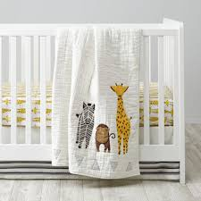 savanna safari crib bedding the land of nod