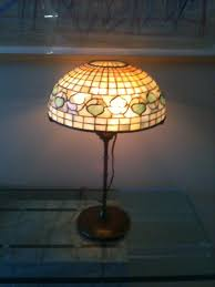 Duffner And Kimberly Lamps by 9 Tiffany Studios Lamp From Antiquevintagelamps On Ruby Lane