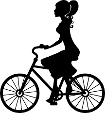 Bicycle Bike Female Girl Ride Silhouette