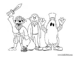 Monster Party Coloring Page